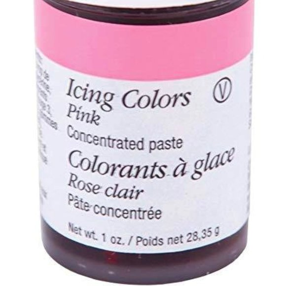 Wilton Icing Colors 1 Oz Pink 28.3 g New & Sealed